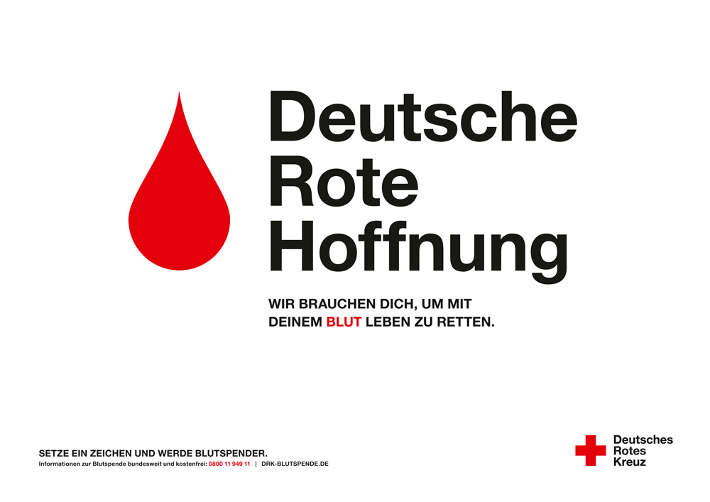 Kampagnenmotive Blut gross